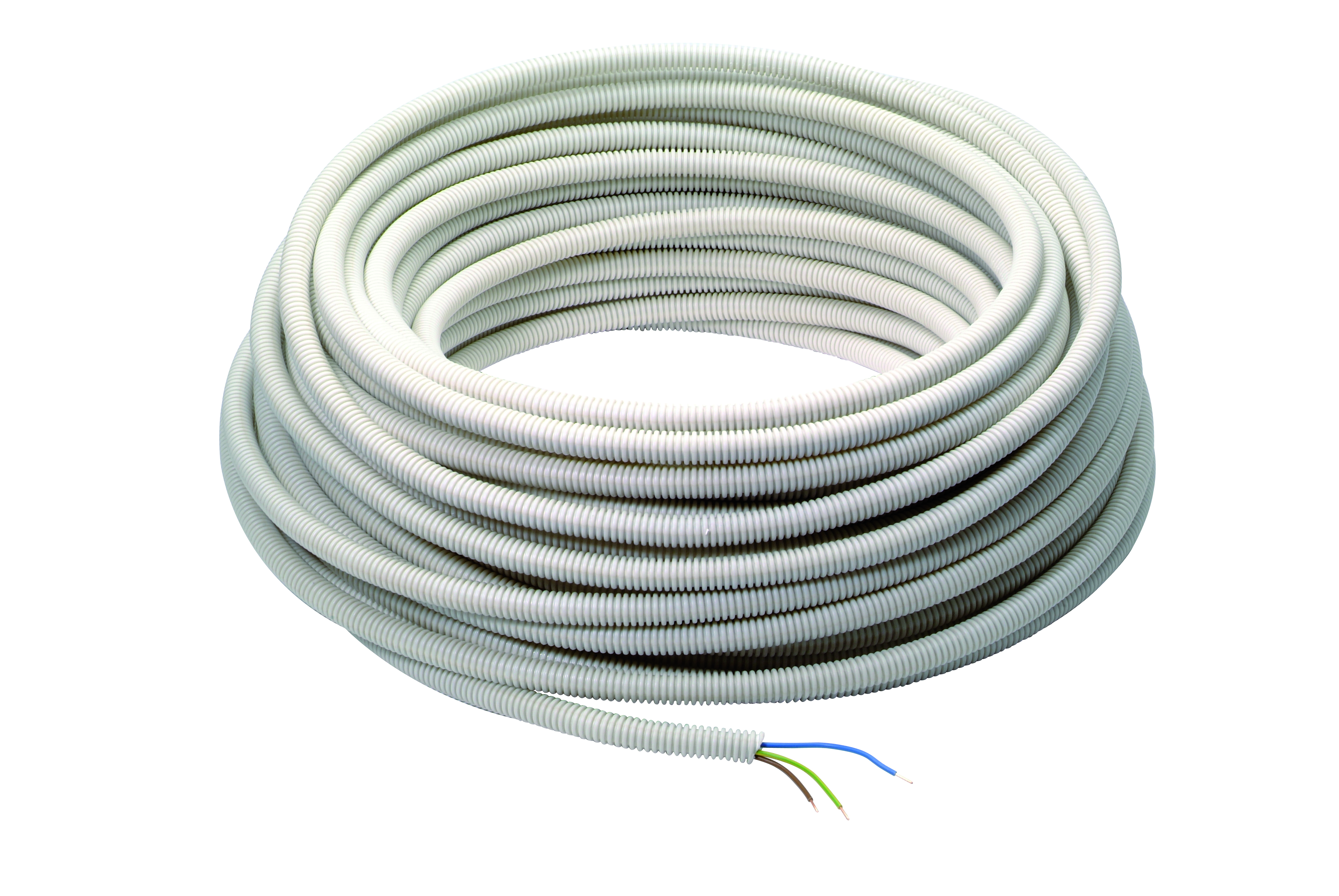 Pre wired flex conduit 16mm² 3G2.5mm² 100m