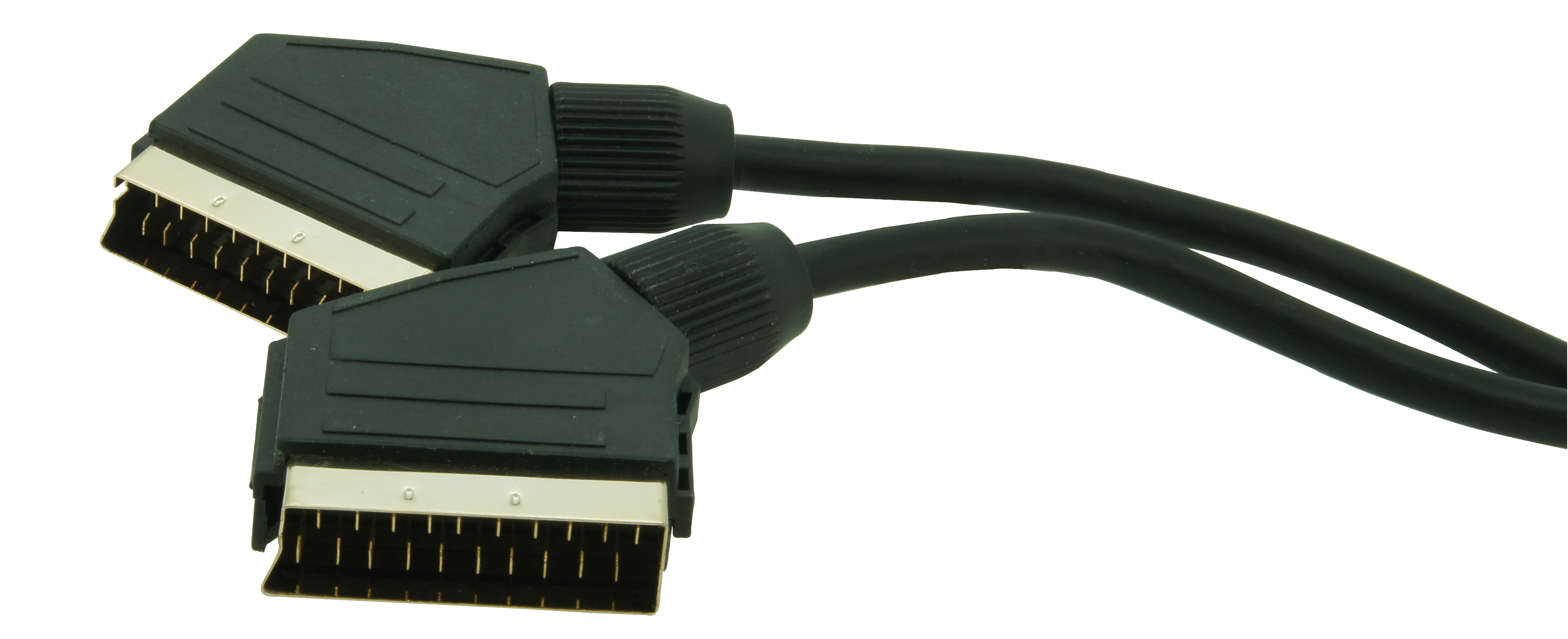 Scart cord with gold plated connectors 1,5m
