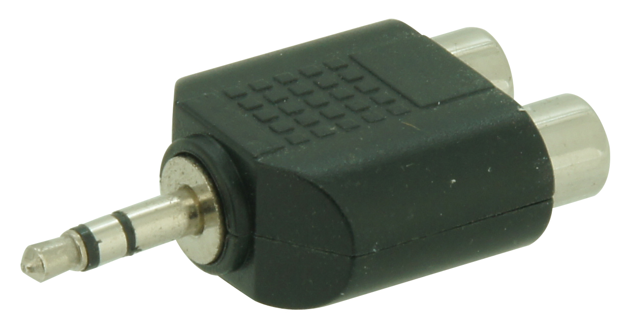 Adaptor Mini-Jack > 2RCA female