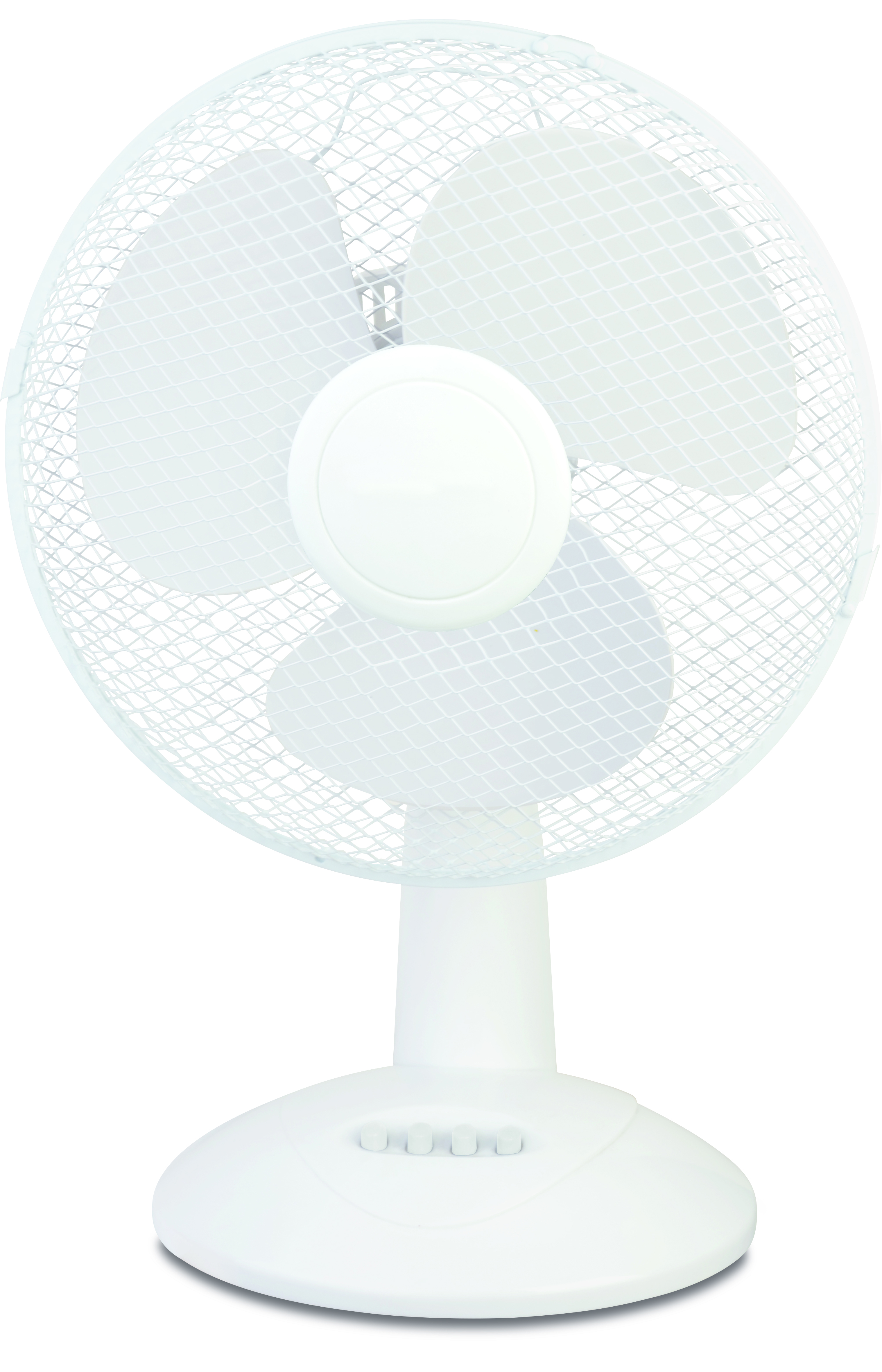 Table fan 40 cm 3 settings white