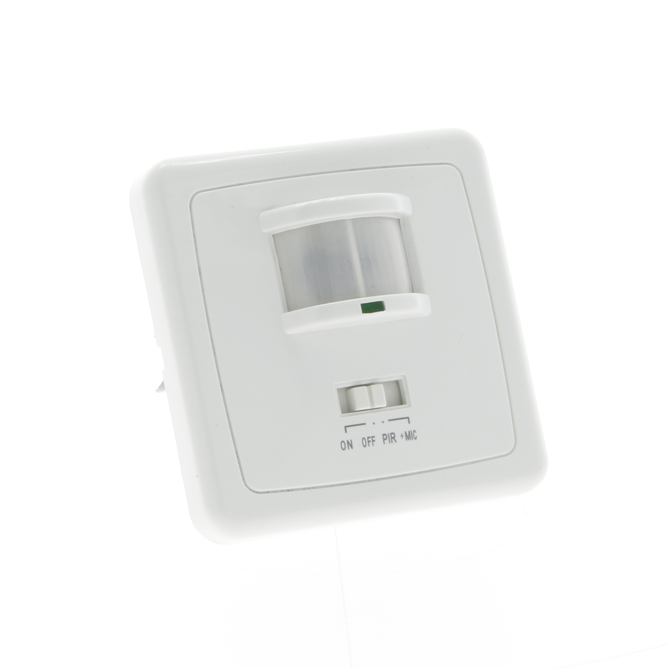 Flush mounted motion sensor wall 500W 120°