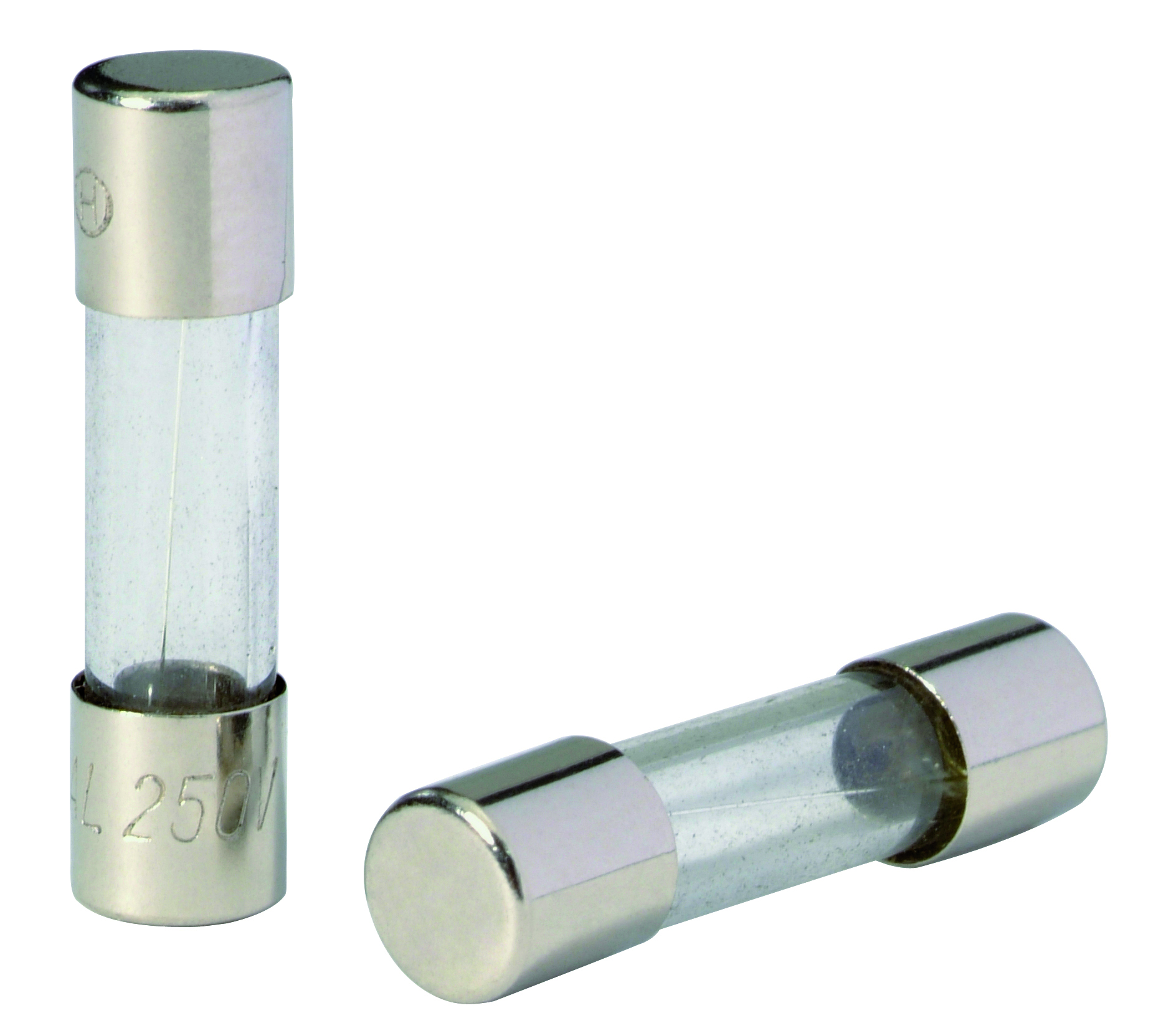 Glass fuse 1,6A 5 pieces