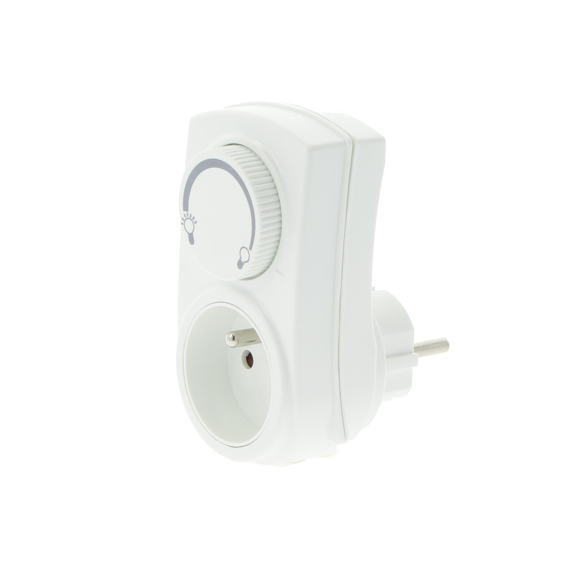Switch with dimmer 300W white